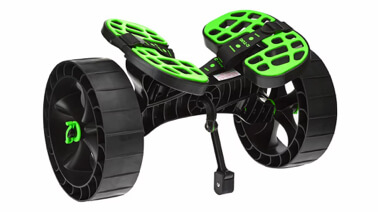 Transport Wheels for Wave Jam Boards